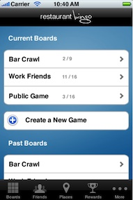 As a foodie, I loved working on this app which gamified the restaurant discovery experience.