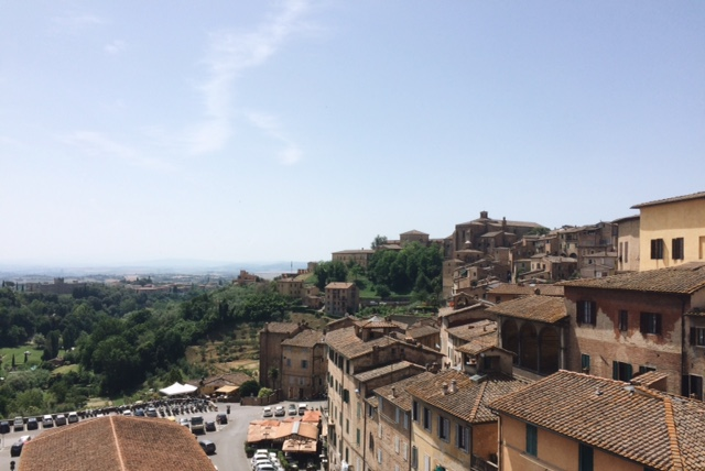 Awesome views from the top of the Town Hall in Siena!
