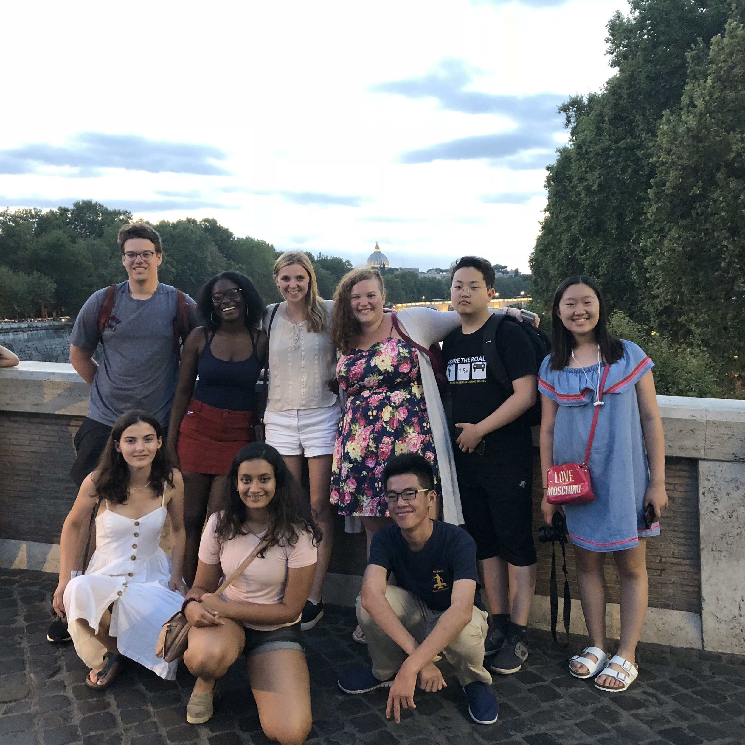 Group on Ponte Sisto.jpg