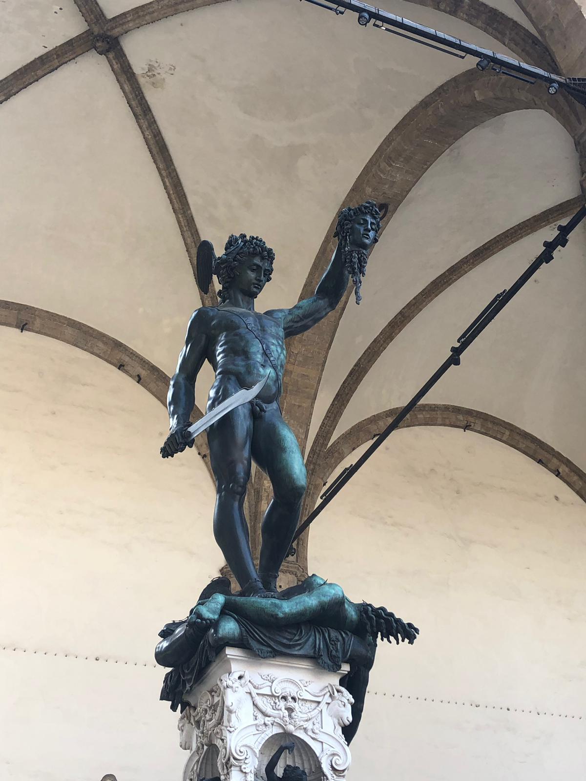 Perseus in the Piazza Della Signoria