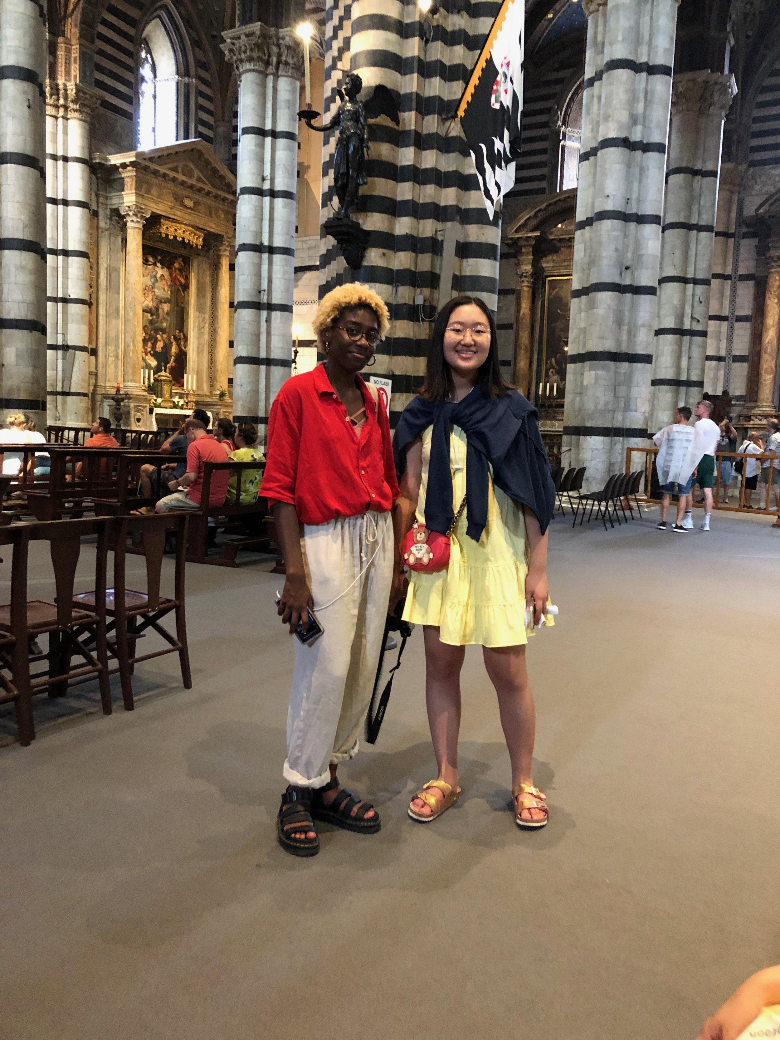 Sonnet and Erin in Chiusi.jpg