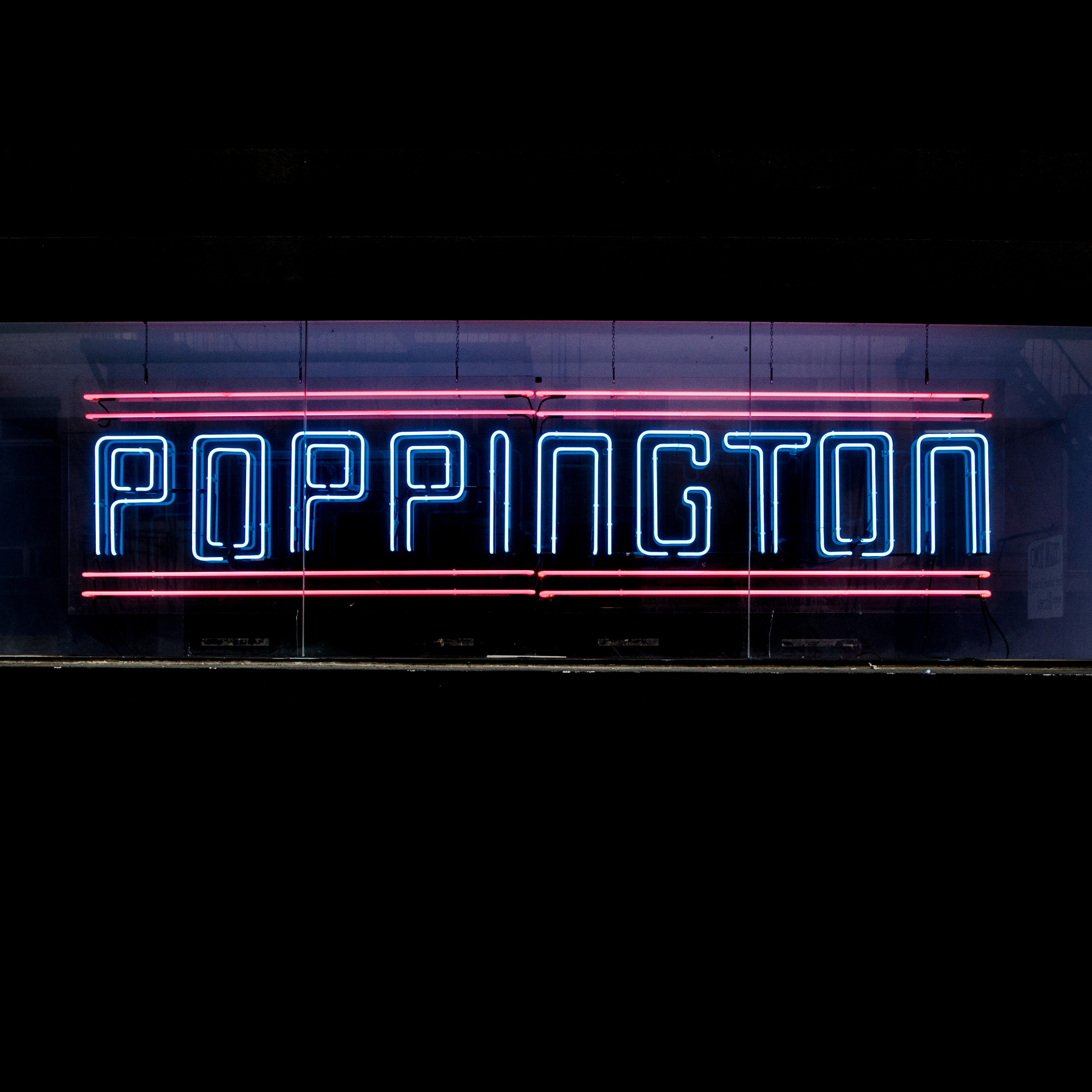 Poppington Gallery   Neon Sign