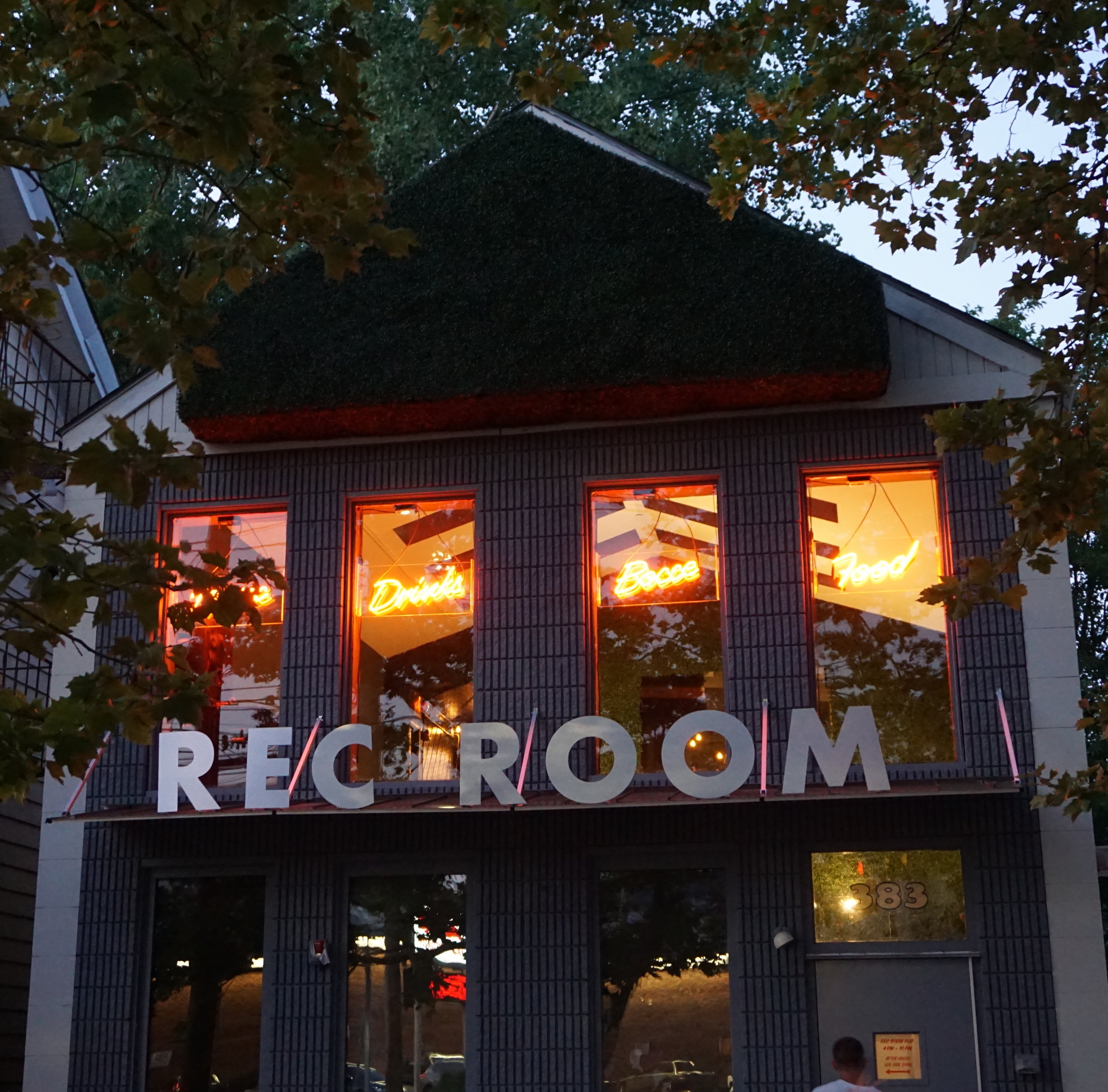 Rec Room   Branding, Exterior Painting, Sign Design,Fabrication, Handpainting