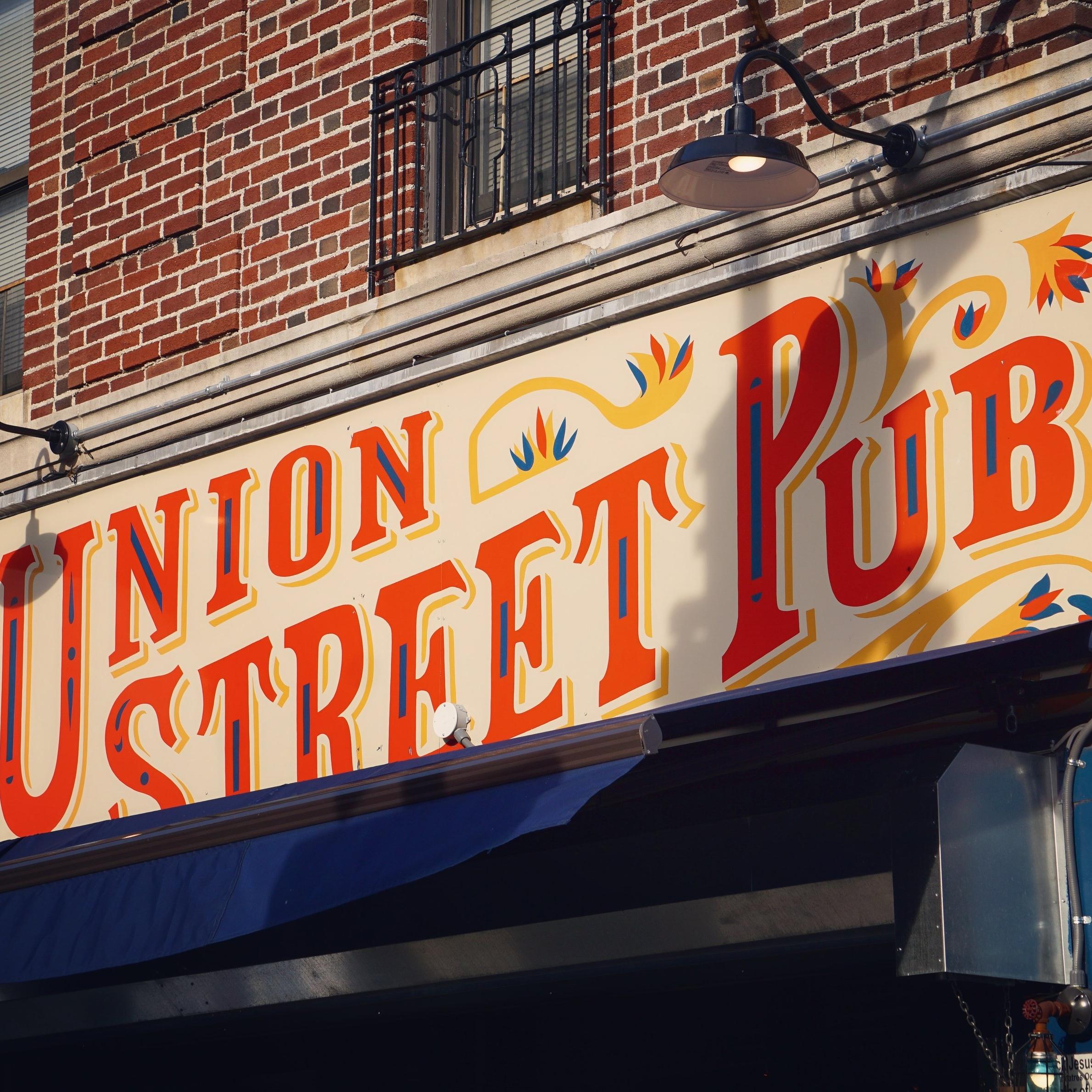 Union Street Pub   Sign Design, Identity, Fabrication