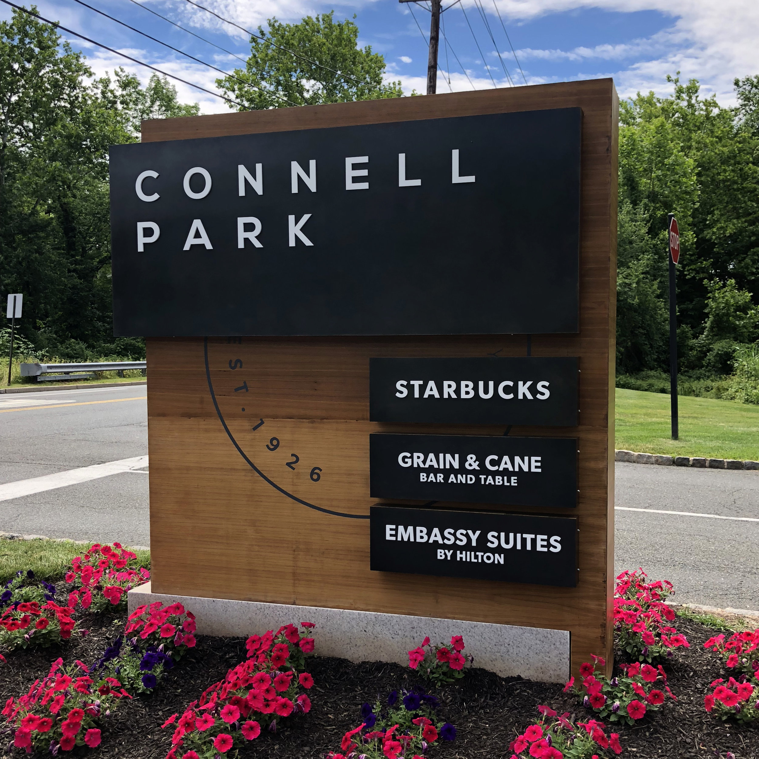 Connell Park   Architectural Signage, Sign Design, Sign Fabrication