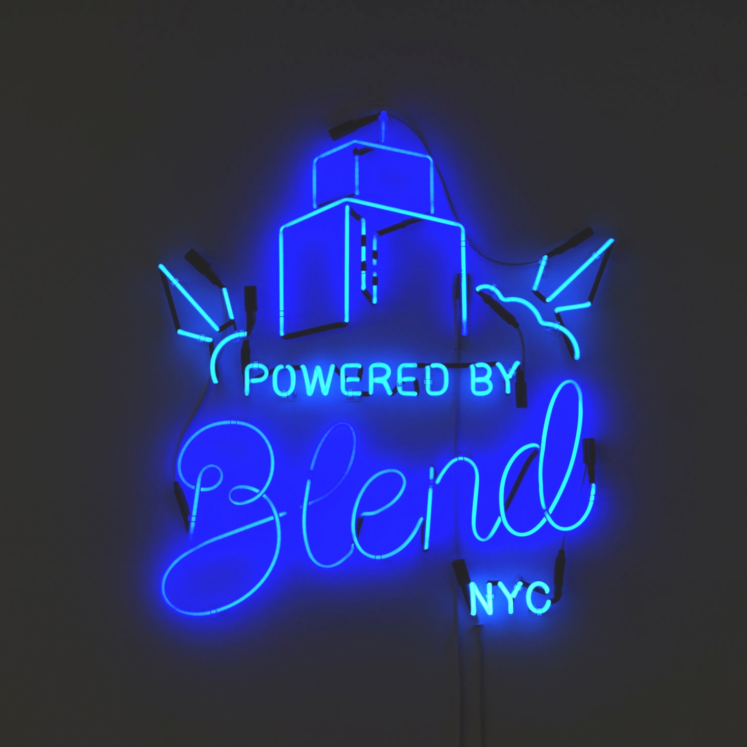 Blend   Neon, Handpainting, Sign Design