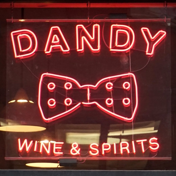 Dandy   Handpainting, Sign Design, Sign Fabrication, Neon, Gold Leaf