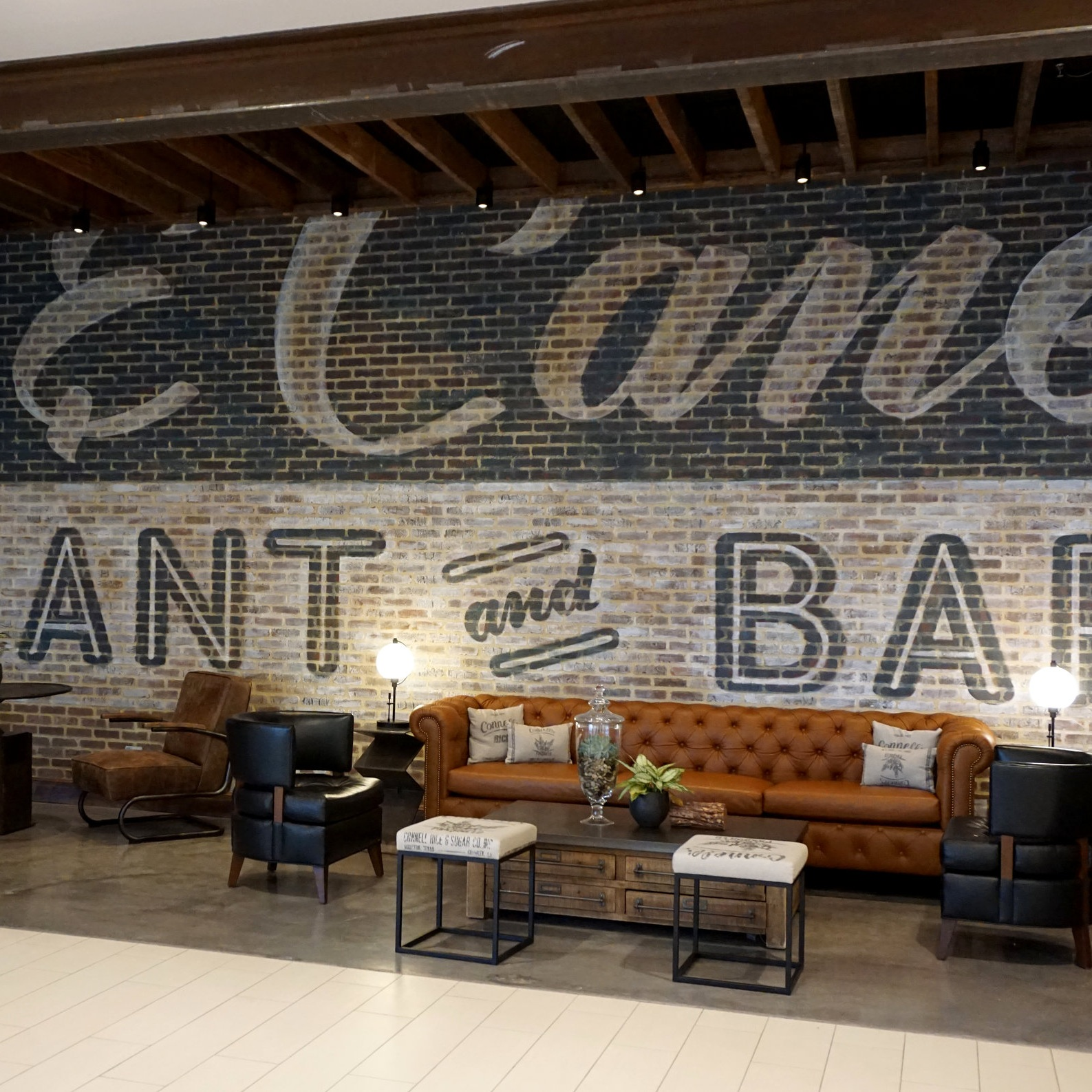 Grain & Cane   Sign Design, Sign Fabrication, Illustration, Handpainting, Mural Painting, Large Format Painting