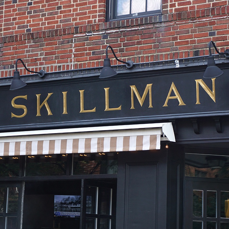 The Skillman   Handpainting