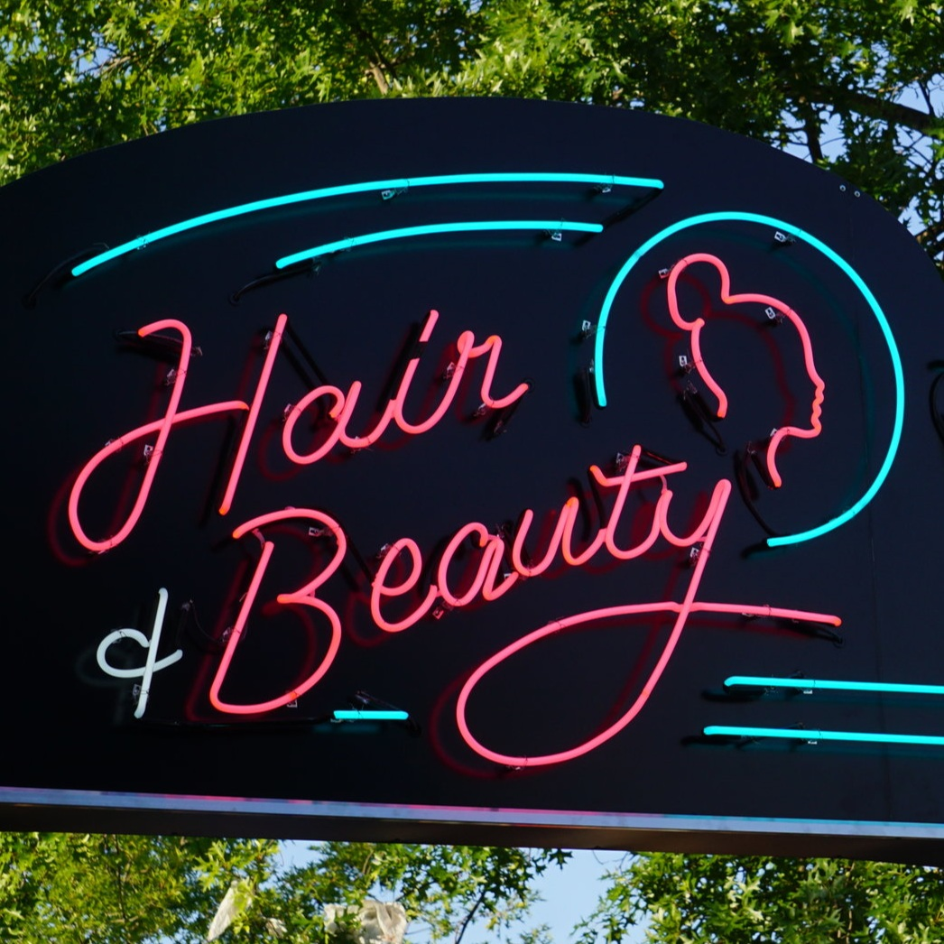 Afropunk Hair & Beauty World   Neon, Sign Design, Fabrication