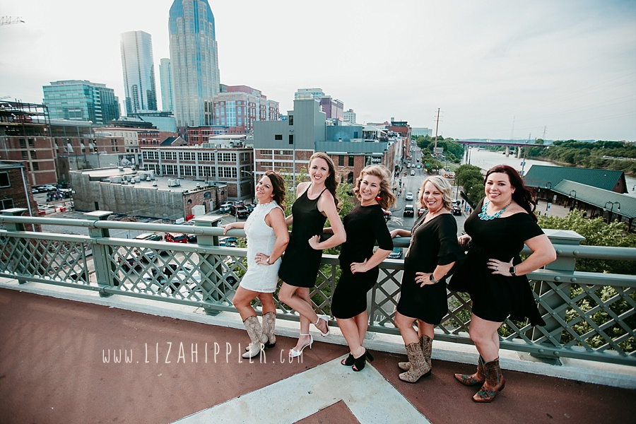 Nashville skyline bachelorette party