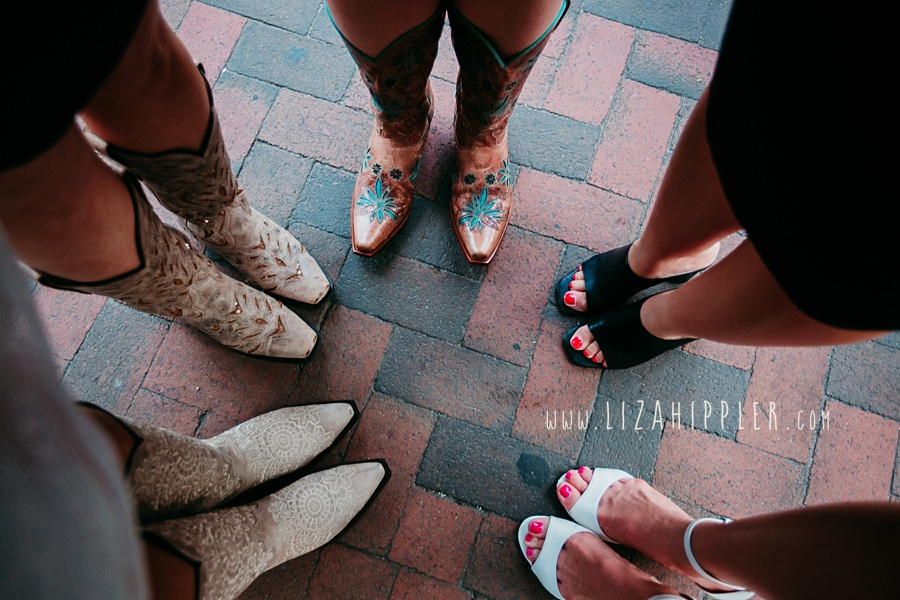 cowboy boots circle of shoes