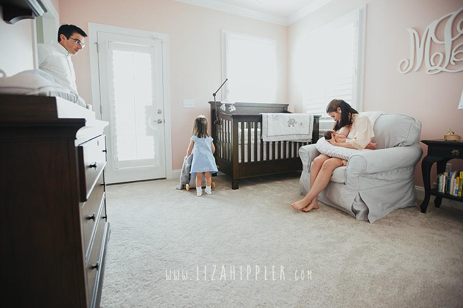 nursery room pink