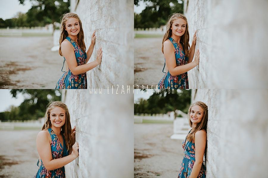 various pose ideas for high school senior girl photos