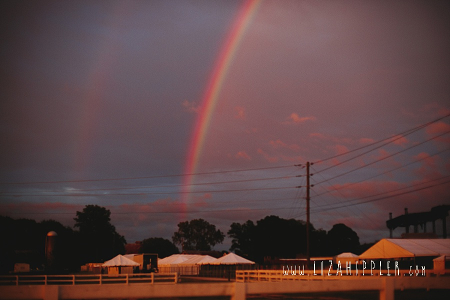 double rainbow over harlinsdale farm franklin tn