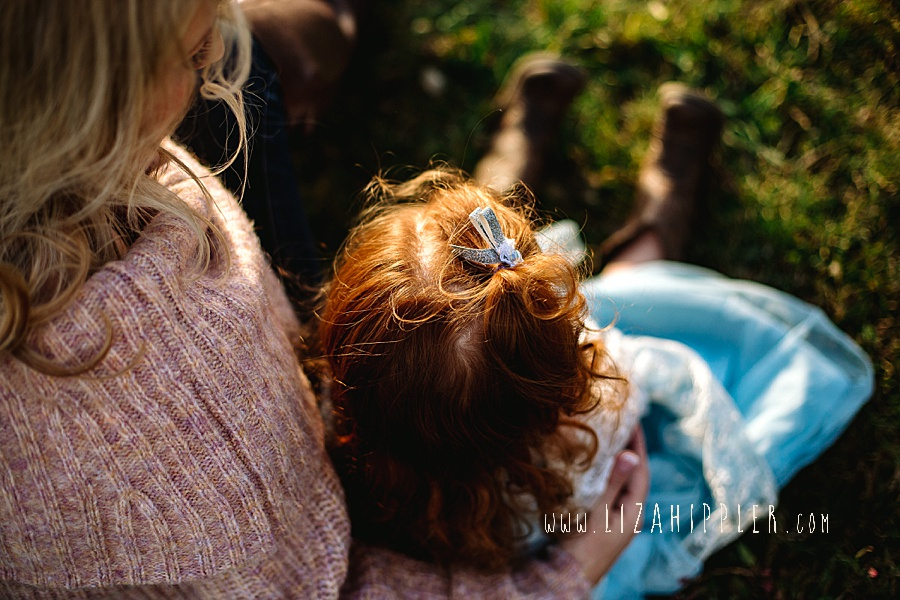 red haired toddler curls