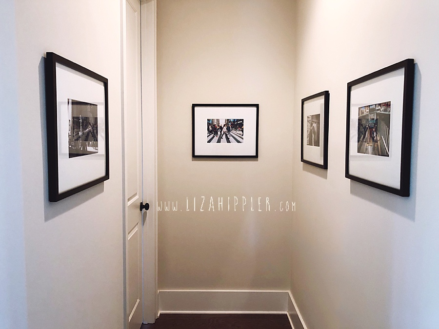 ideas for how to hang frames and photos