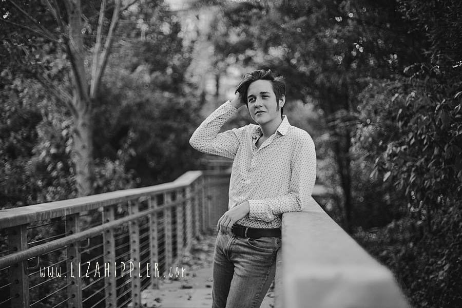 high school senior boy photo session