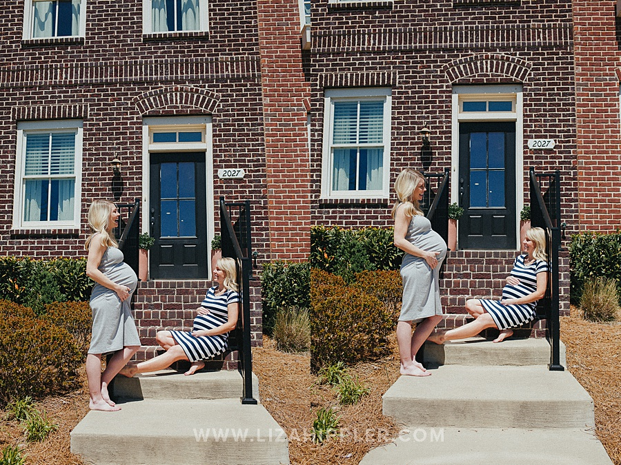 maternity pictures of sisters pregnant at the same time