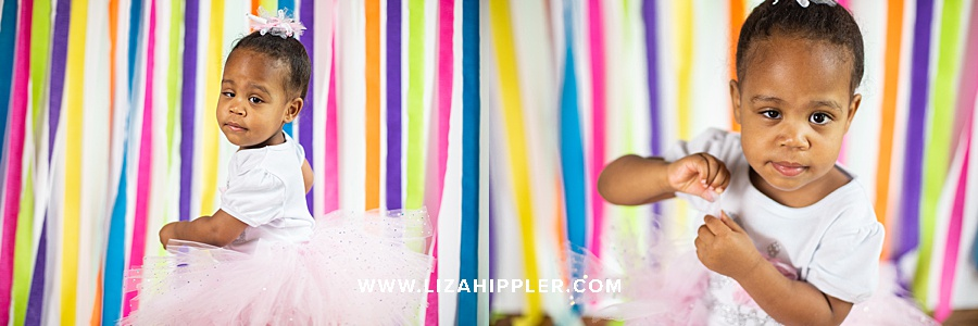 streamer background for 2nd birthday photos