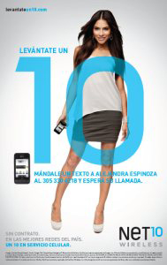 Net10 Wireless, Alejandra Espinoza