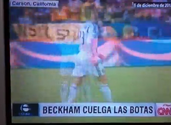 2013 CNN: David Beckham retirement and more