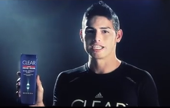 Rexona Clear, James Rodriguez