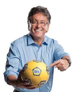Ramos participating in mini-film TV ads for NAPA