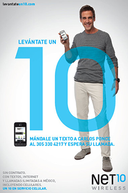 Net10 Wireless, Carlos Ponce
