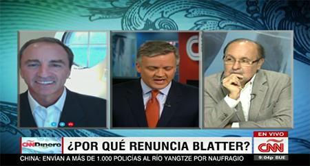 2015 CNN Dinero: Por que renuncio Blatter?