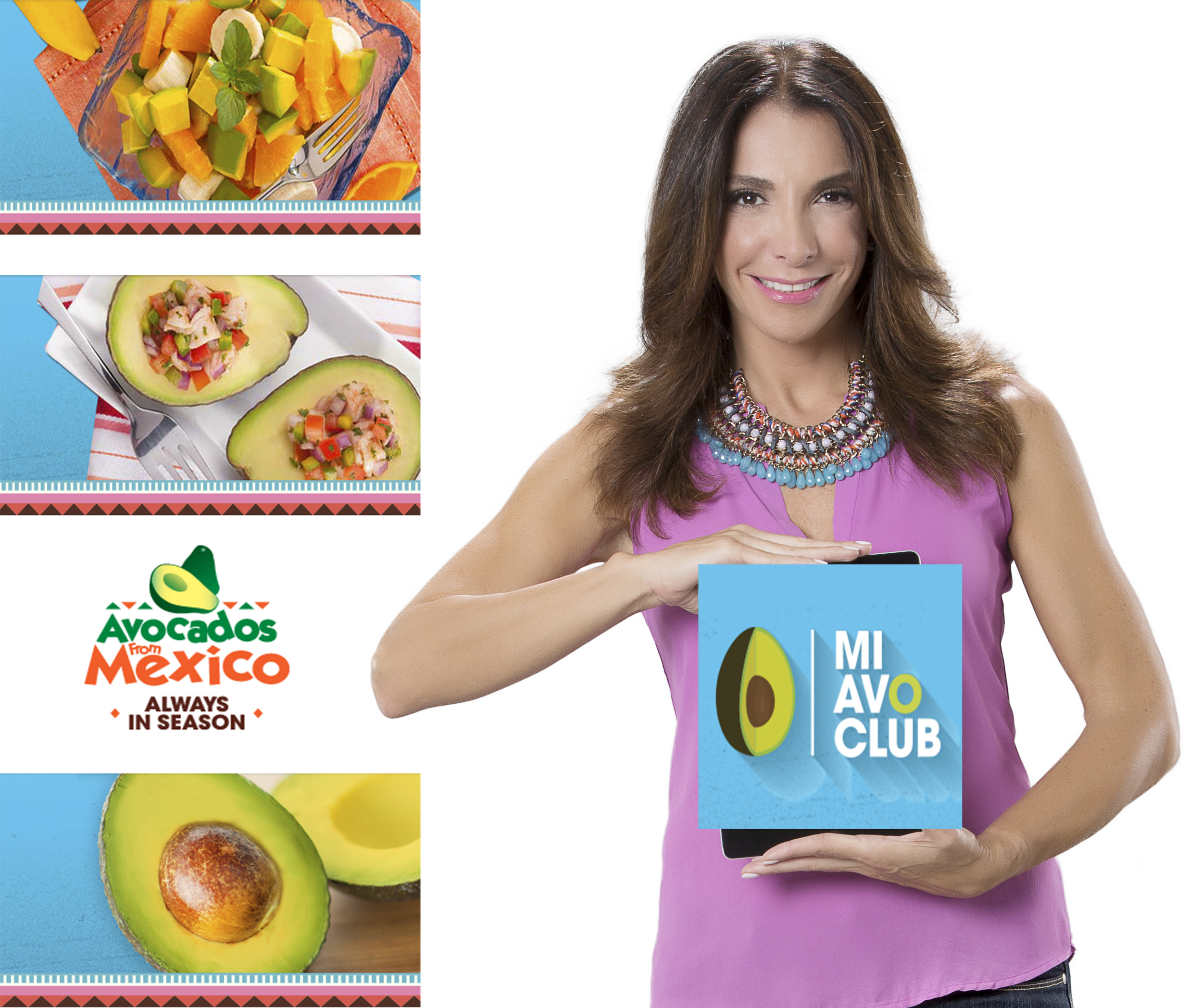 Avocados from Mexico Video Recipes, Maggie Jimenez