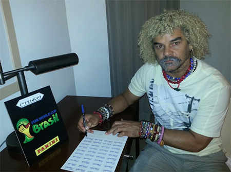 Carlos Valderrama; Colombia NT