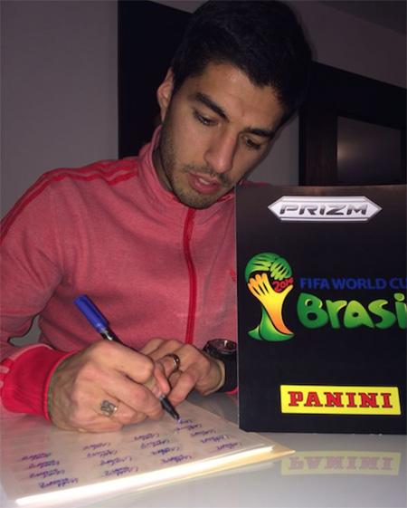Luis Suarez; Uruguay NT