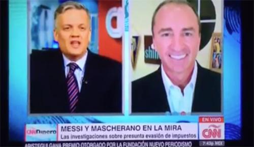CNN Dinero: Messi y Mascherano en la mira