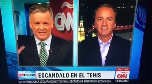CNN Dinero: Escandalo en el Tenis