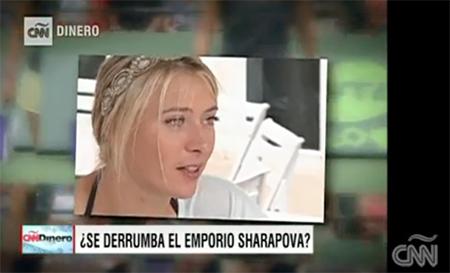CNN Dinero: Sharapova Meldonium Scandal