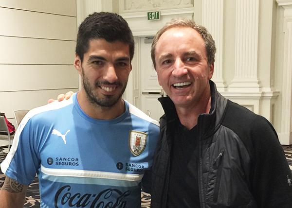Luis Suarez & Dario