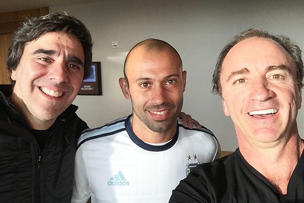Charlie, Javier Mascherano & Dario