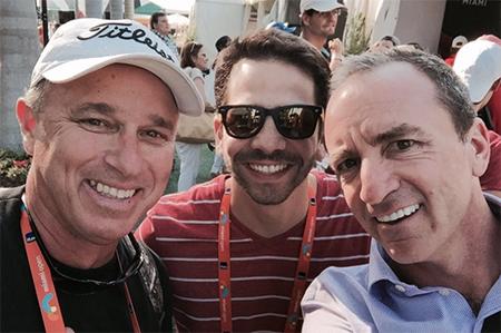 Miguel, Andres Cardenas and Dario
