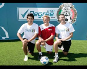 Degree; Jorge Campos, Luis Hernandez, Felix Fernandez