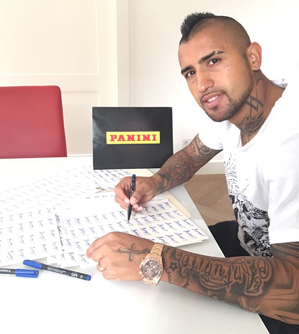 ARTURO VIDAL; FC Bayer Munich, Chile NT