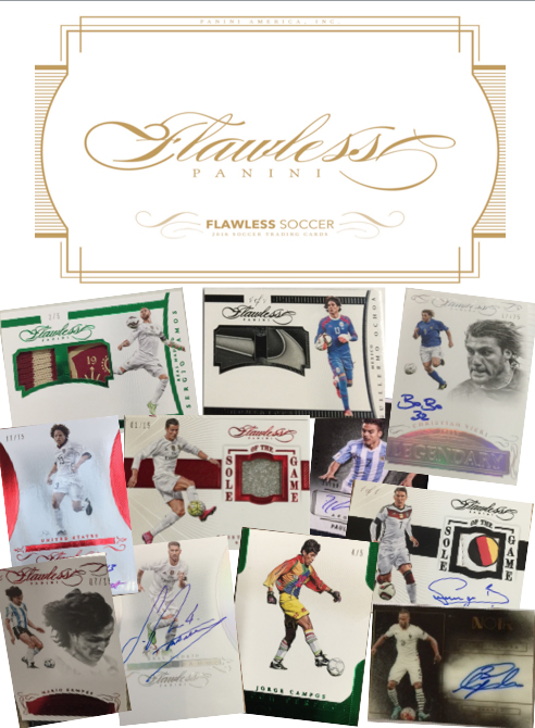 2016 Panini Flawless Legendary Select Collection