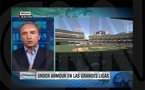 CNN Dinero: Under Armour in the big leagues