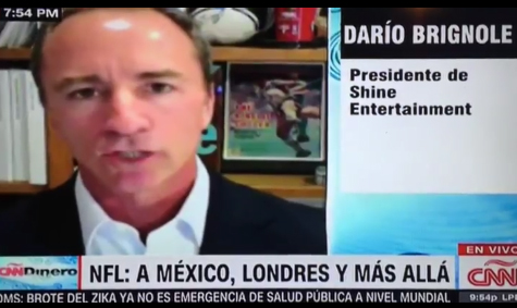 CNN Dinero: NFL Playing out of the USA