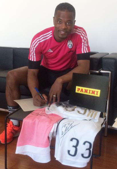 PATRICE EVRA; Juventus FC, France NT
