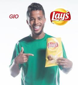 Lay's, Gio dos Santos
