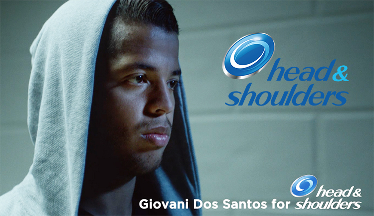 Head & Shoulders, Giovani dos Santos