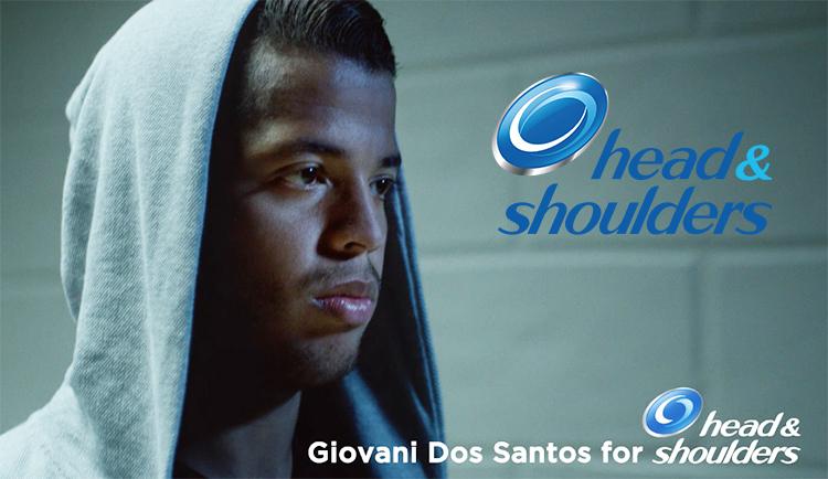 Head & Shoulders, Giovani dos Santos