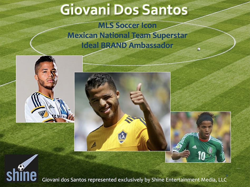 Giovani dos Santos Brand Ambassador