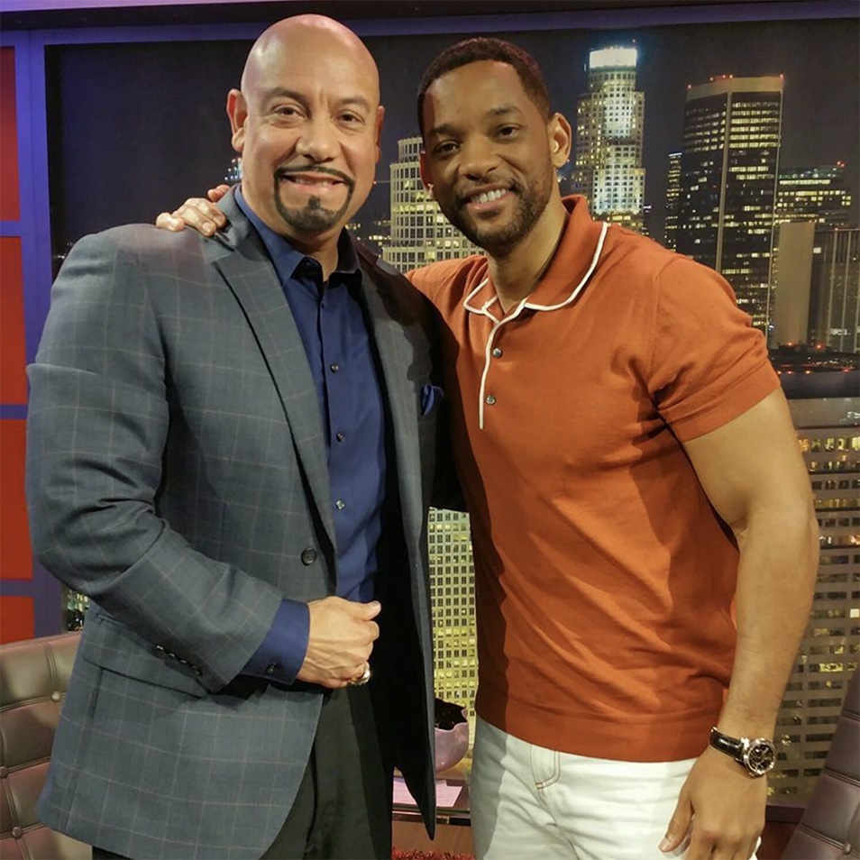 Edgar and actor Will Smith